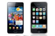Apple says Samsung stole its design.