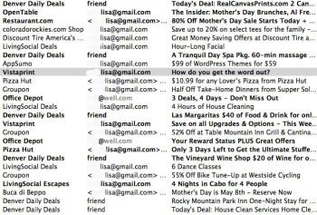 Daily deals invade the inbox