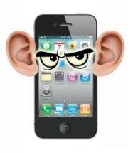 iPhone spying