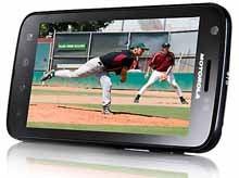 AT&T's Motorola Atrix 4G (lanscape).