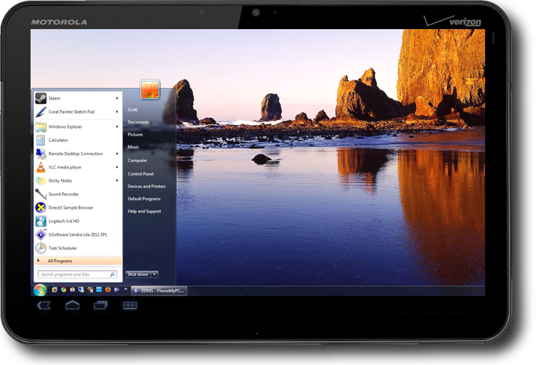 Control Your Pc From Your Android Tablet App Roundup