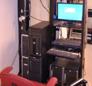 Servers at the Grand Opera House, mid-migration