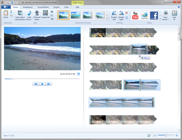 Microsoft Windows Live Movie Maker 2011 Free Download