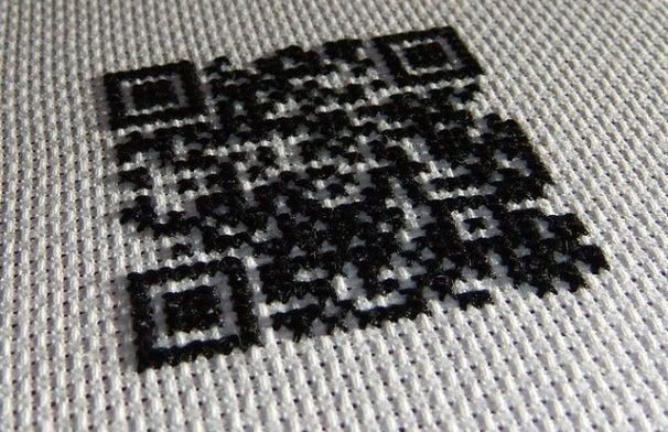qr textile