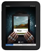 hp pivot touchpad tablet