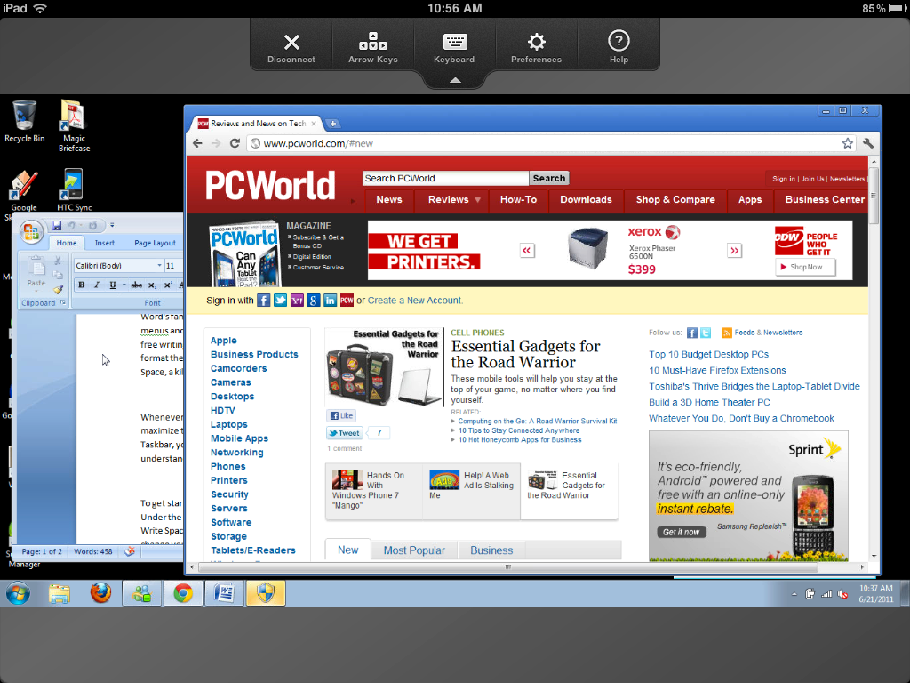Control Your PC From Your iPad With Remote Desktop Apps   PCWorld