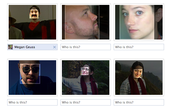 Facebook Facial Recognition Flops