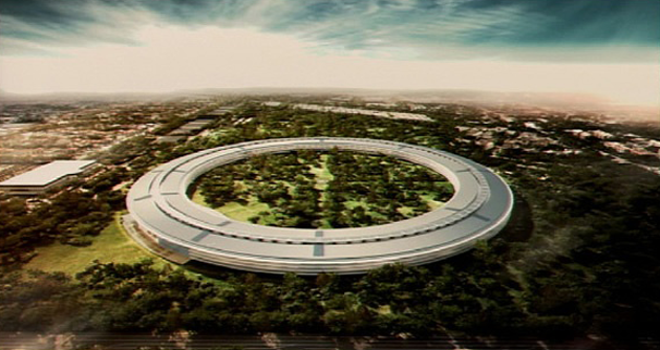 Apple's Spaceship Office Complex to Land in Cupertino