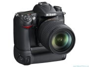Nikon D7000 with battery grip attached
