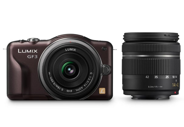 Panasonic Lumix GF3 interchangeable-lens camera