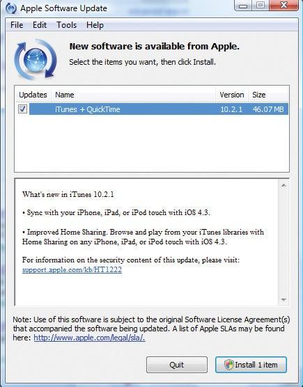 Update software regularly.
