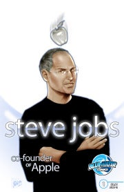 Steve Jobs the Comic Book Hero: An Exclusive Look