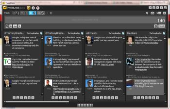 TweetDeck is a powerful tool for Twitter.