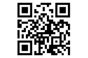 A typical QR code.
