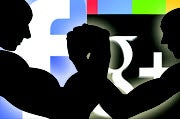 Facebook and Google engage in battle over business users