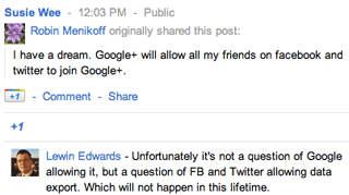 Google+: 13 Questions to Ponder