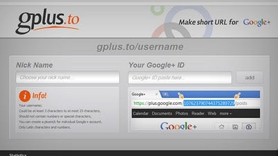 Google+ Vanity URL Shortener Crops Up
