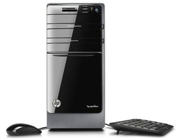 HP Pavilion p7qe desktop PC.