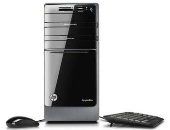 HP Pavilion p7qe desktop PC.