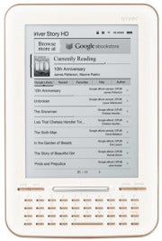 iRiver Story HD: First Dedicated E-Reader for Google eBooks: