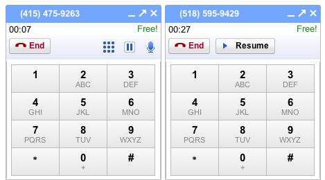 Gmail Users Can Make Multiple Calls, Put Them on Hold