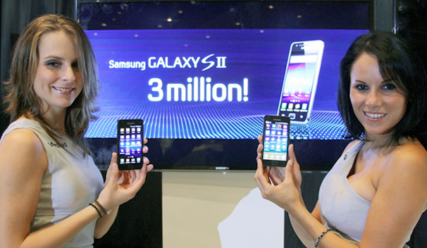 Samsung Sells 3 Million Galaxy S II Android Phones