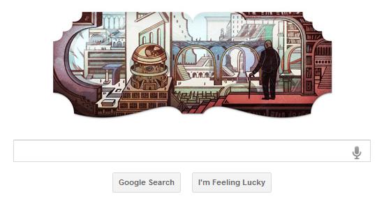 Google Doodle Honors Argentine Author Jorge Luis Borges