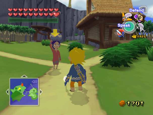 Dolphin emulator: Legend of Zelda: Wind Waker