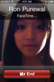 FaceTime on iOS