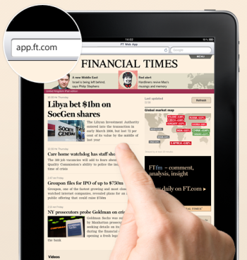 Financial Times Ousted from Apple's App Store