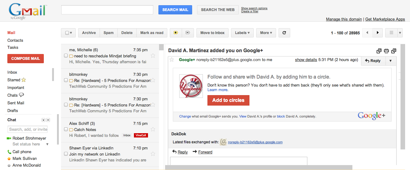 View Gmail In Preview Pane Mode Pcworld
