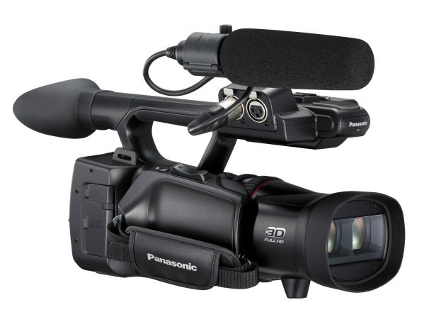 Panasonic HDC-Z10000 3D camcorder