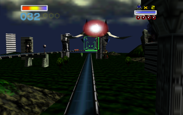 Project64 emulator: Starfox 64