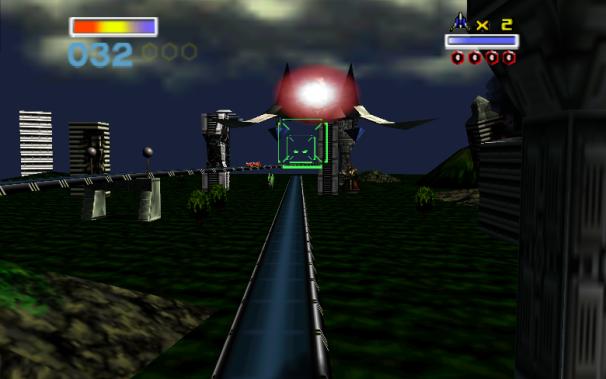Project64 emulator: Starfox 64