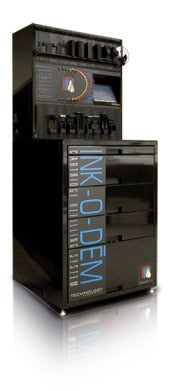 Ink-O-Dem ink refill machine