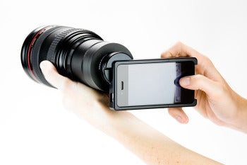 iPhone camera accessories.