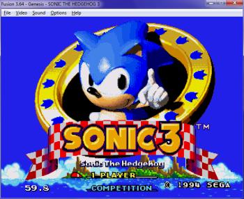 Sega emulator: Kega Fusion