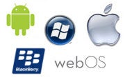 mobile os ios android blackberry windows webos