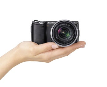 Sony NEX-5N interchangeable-lens camera