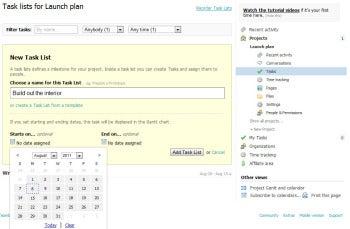 Teambox screenshot