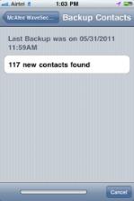 mcafee security wavesecure iphone ios