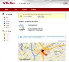 mcafee security wavesecure iphone ios