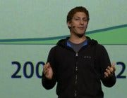SNL's Andy Samberg Opens F8 Keynote with 'Zuck Dawg' Impersonation