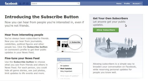 Facebook's Subscribe Button: A Getting-Started Guide