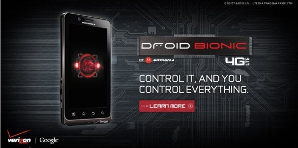 Motorola Droid Bionic: Launch Day Briefing