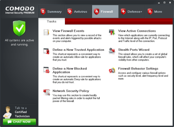 Comodo Internet Security (CIS)
