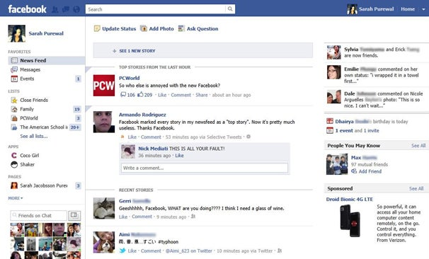 Facebook Redesigns: A Long History of Pointless Backlash