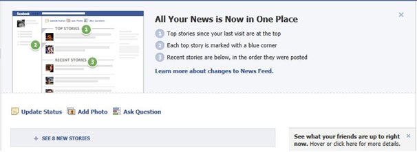 Facebook Revamps News Feed, Annoying Users