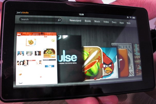 Amazon Reportedly Ups Kindle Fire Production