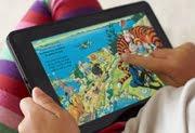 Amazon Kindle Fire tablet